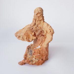 Dakini 1 divine feminine clay sculpture