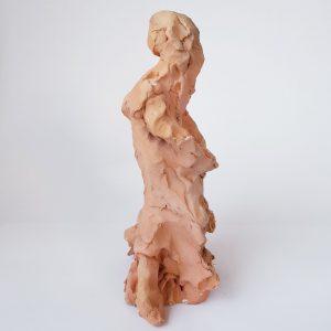 Dakini 2 Divine Feminine Clay Sculpture
