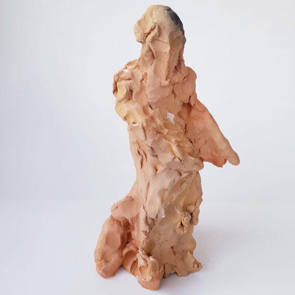 Dakini 2 Devine Feminine Clay Sculpture